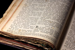 Old Bible Royalty Free Stock Image