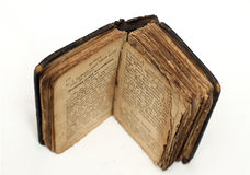 Old bible isolated Royalty Free Stock Photos