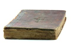 Old bible isolated Royalty Free Stock Photo