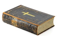 Old bible Royalty Free Stock Photo