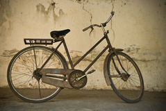 Old bicycle. Show in the museum Stock Images