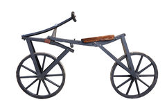 Old Bicycle Stock Photo