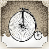 Old bicycle. Royalty Free Stock Photos