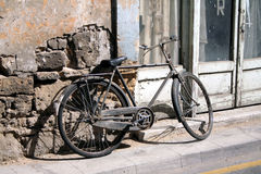 Old bicycle.  Stock Image