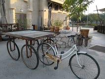 Old bicycle in AL seef Dubai
