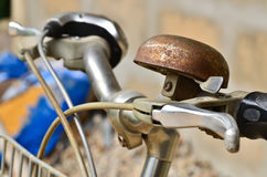 Old bicycle bell Stock Photos