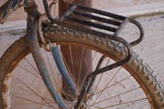 Old bicycle bike sport Stock Photo