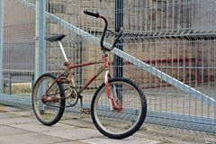 Old bicycle bmx Royalty Free Stock Image