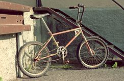 Old bicycle bmx Royalty Free Stock Photos