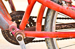 Old Bicycle chain Royalty Free Stock Image