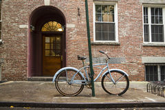 Old bicycle in Greenwich Village Stock Photography