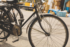 Old bicycle in Japan Royalty Free Stock Photo