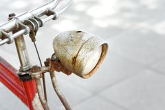 Old bicycle Old bike Royalty Free Stock Photos