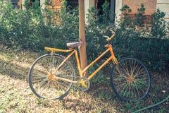 Antique Bicycle stock photos
