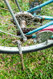 Old bicycle part. Royalty Free Stock Photography