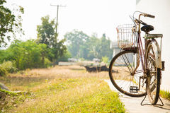 Old bicycle. Stock Images