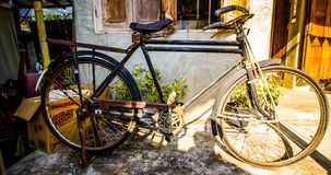 Old bicycle. In thailand, travel Chiangmai,Thailand Stock Images