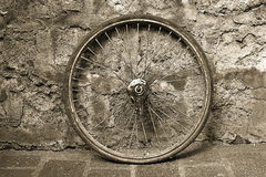 Old Bicycle Wheel