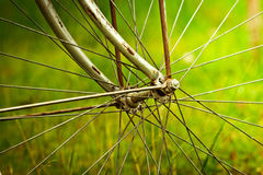 Free Old Bicycle Wheel Royalty Free Stock Images - 46041289