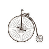 Old bicycle Stock Photos