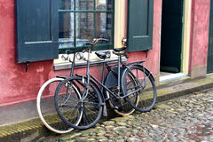 Old bicycles Royalty Free Stock Photos