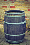 Old big barrel for wine Royalty Free Stock Photos