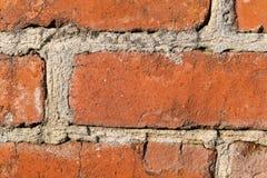 Old big bricks wall background. Close up royalty free stock photo