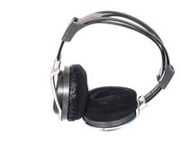 Old  big earphone Royalty Free Stock Image