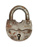 The old big padlock. Royalty Free Stock Images
