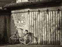 Old bike Royalty Free Stock Images