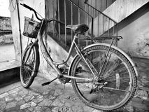 Old bike Stock Images