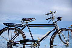Old bike, Old bike in Thailand Royalty Free Stock Photography