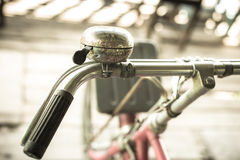 Old bike parking in home Stock Images