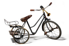 Old bike in retro style Royalty Free Stock Images