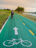 Old bike track Royalty Free Stock Images