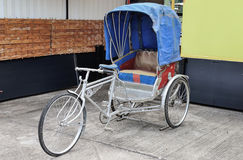 Old bike and tricycle Stock Photo
