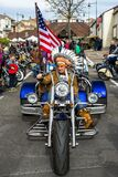 Old biker knows how to stay young