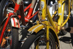 Old bikes Royalty Free Stock Photo