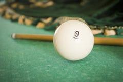 Old billiard balls Royalty Free Stock Photo