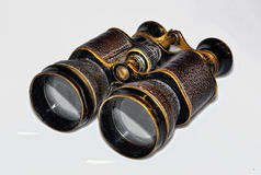 Old binocular. Old theatre binocular  on the white background Royalty Free Stock Image