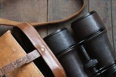 Old Binoculars Royalty Free Stock Photos