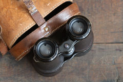 Old Binoculars Royalty Free Stock Images