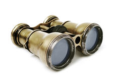 Old binoculars Royalty Free Stock Photo