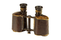 Old binoculars Stock Photography