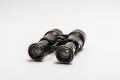 Old binoculars Stock Images
