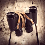 Old Binoculars Filtered Royalty Free Stock Photo