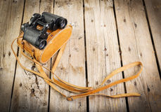 Old Binoculars Royalty Free Stock Photography