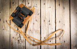 Old Binoculars Stock Photo