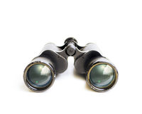 Old Binoculars with Sky Reflection Stock Photos
