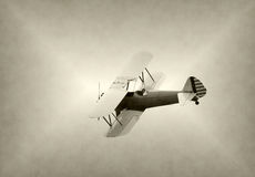 Old biplane Royalty Free Stock Image
